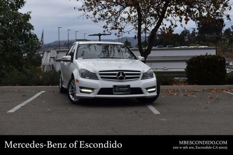 Certified Pre-Owned 2013 Mercedes-Benz C-Class C 250 Sport