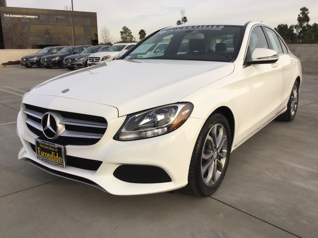 Pre owned 2016 mercedes benz c class c300w sport sedan in for 2017 mercedes benz c300w