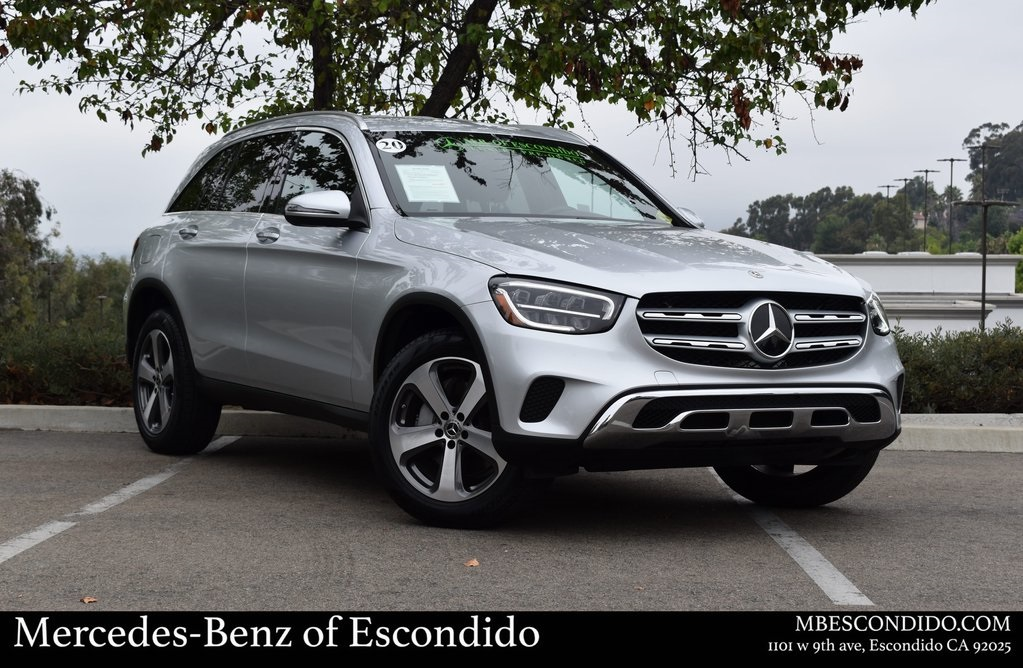 Pre-Owned 2020 Mercedes-Benz GLC 300 RWD SUV