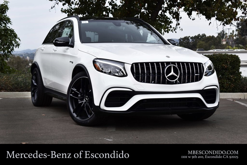 Mercedes Benz Suvs >> New 2019 Mercedes Benz Glc Amg Glc 63 Suv Suv In Escondido