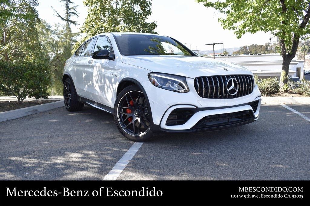 New 2019 Mercedes Benz Amg Glc 63 S Coupe 4matic Coupe