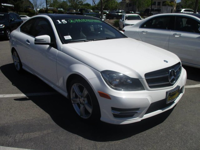 Pre owned 2015 mercedes benz c class c 250 coupe in for Mercedes benz escondido parts