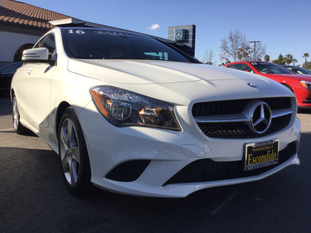 Certified pre owned 2016 mercedes benz cla cla250c coupe for Mercedes benz cla250c