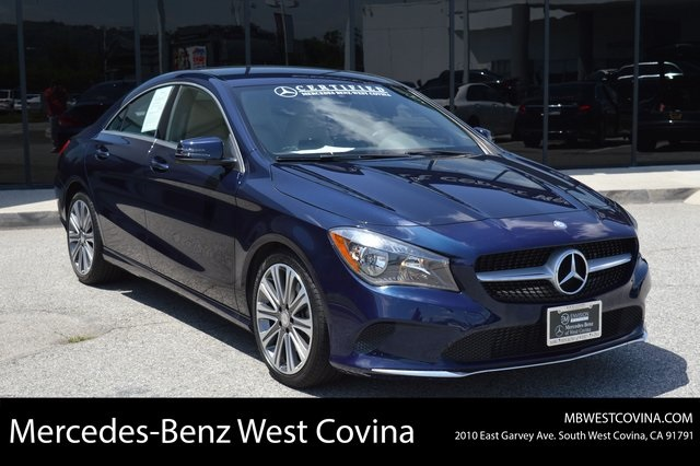 Certified Pre Owned 2017 Mercedes Benz Cla 250