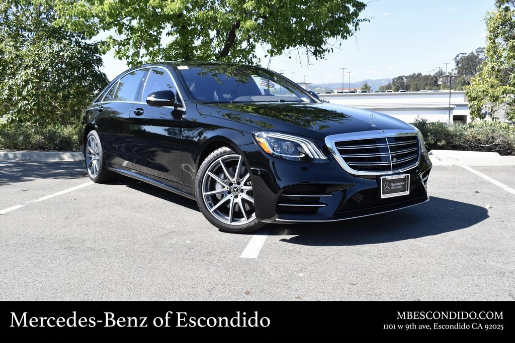 New 2019 Mercedes-Benz S 450 RWD SEDAN