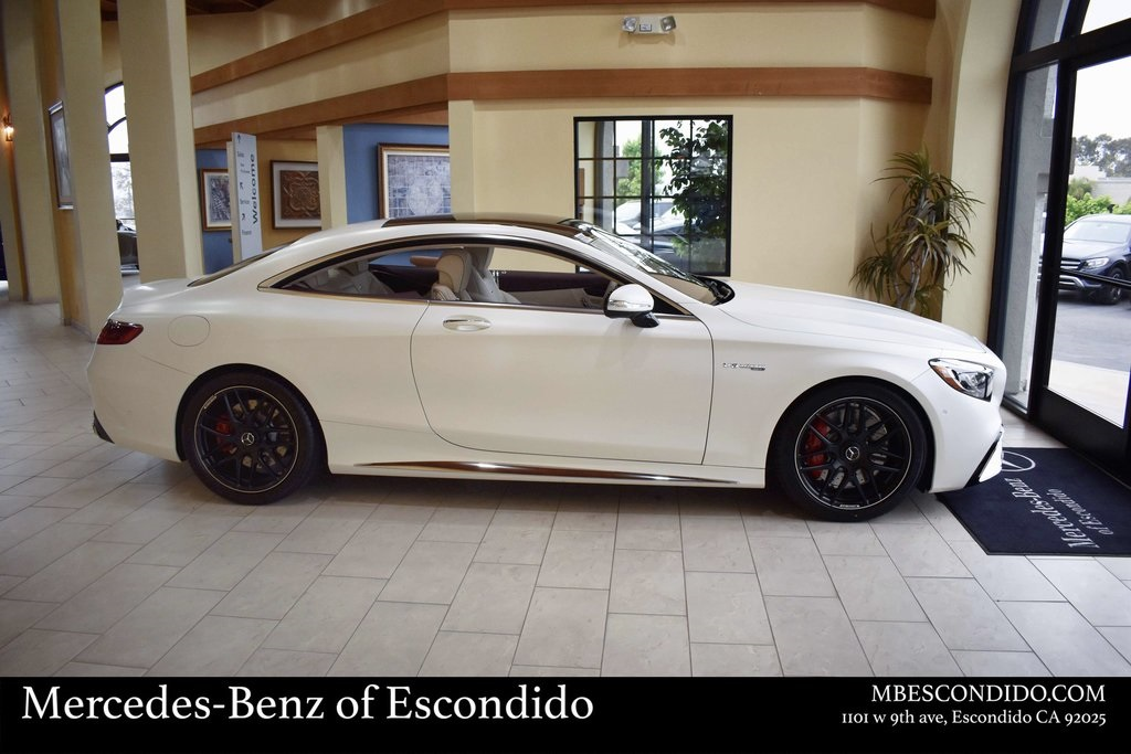 New 2019 Mercedes Benz S Class S 63 Amg 2d Coupe In Escondido