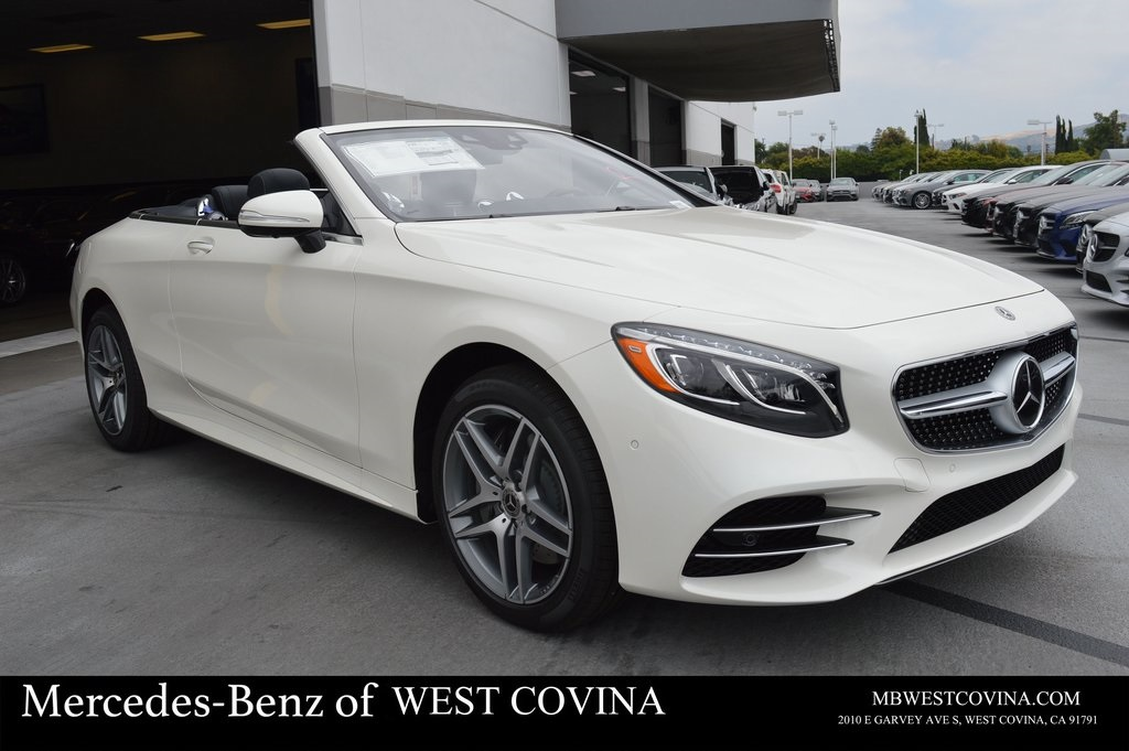 New 2019 Mercedes Benz S 560 With Navigation