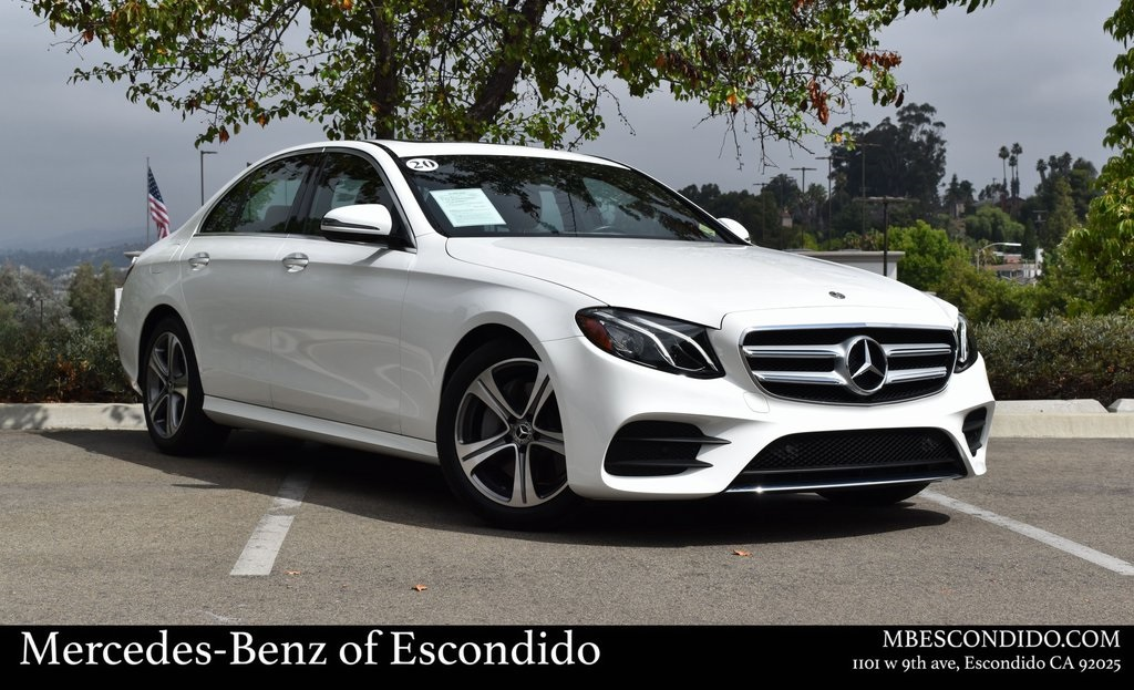 Pre-Owned 2020 Mercedes-Benz E 350 RWD SEDAN