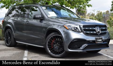 Certified Pre-Owned 2019 Mercedes-Benz GLS AMG® GLS 63 SUV