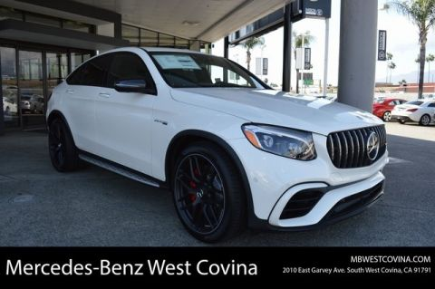 New 2019 Mercedes-Benz GLC AMG® GLC 63 S Coupe