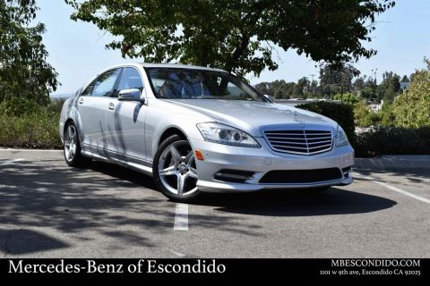 Pre-Owned 2011 Mercedes-Benz S-Class S 550 Sport