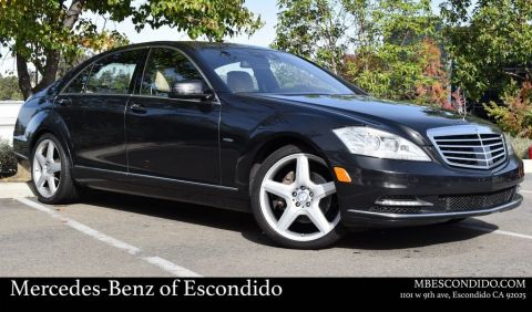 Pre-Owned 2012 Mercedes-Benz S-Class S 400