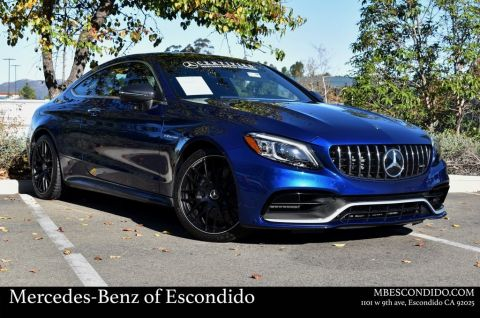 Certified Pre-Owned 2020 Mercedes-Benz C-Class AMG® C 63 Coupe