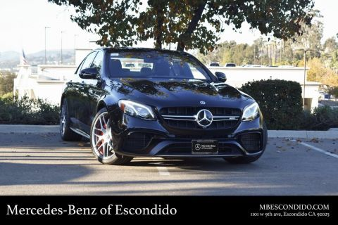 New 2019 Mercedes-Benz E-Class AMG® E 63 S Sedan